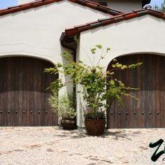 Spanish Style Garage Doors