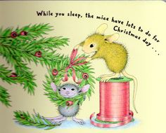 House Mouse Christmas page 5.