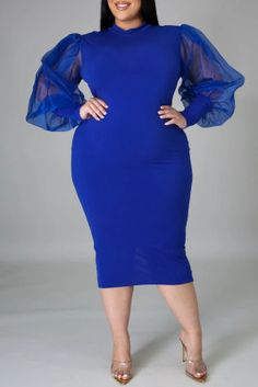 US$ 14.49 US$ 20.70 Yellow Fashion, Blue Fashion, Stylish Outfits For Women Over 50, Dress Outfits, Blue Outfits, African Fashion Dresses, Shoes Wholesale, Wholesale Clothing, Cheap Clothes