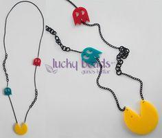 lucky beads by Güneş Kutlar - Kolye 329 - Pac-man
