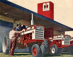 Farmall Tractors, Old Tractors, Antique Tractors, International Harvester, Vintage Farm, Ih, Heavy Equipment, Back In The Day, Agriculture