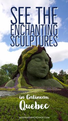 Check out the beautiful living sculptures at the exhibit at Jacques-Cartier Park in Gatineau, Quebec before it disappears! Places To Travel, Travel Destinations, Places To Go, Travel Tips, Travel Goals, Travel Ideas, Alberta Canada, Visit Canada, Canada 150