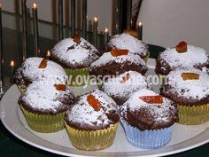 cikolatali browni muffin