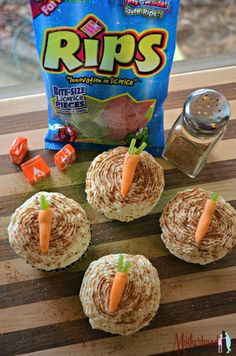 Easy Rips Carrot Cupcake Recipe for Easter - Motherhood Defined Carrot Cupcake Recipe, Cupcake Recipes, Dessert Recipes, Spring Cupcakes, Easter Cupcakes, Candied Carrots, Creative Desserts, Recipe For Mom, Candy Making