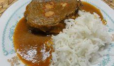 Jak připravit hovězí maso po burgundsku | recept Food Videos, Steak, Grains, Pork, Food And Drink, Rice, Cooking Recipes, Beef, Meals
