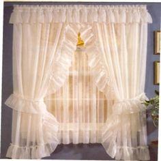 Priscilla curtains...
