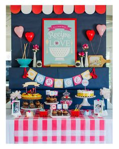 5989c926ca18 People also love these ideas. Retro Vintage Bridal Kitchen Shower ...