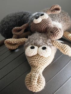 Free Chrochet Pattern Dolly the Sheep