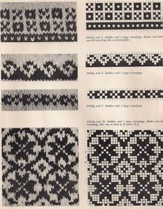 Punto Fair Isle, Motif Fair Isle, Fair Isle Pattern, Craft Patterns, Cross Stitch Patterns, Knitting Patterns, Knitting Ideas, Mini Christmas Stockings, Fair Isles