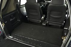 Plenty of cargo space! Interior of Wheego Electric Car
