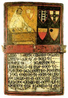 3. Biccherna priva di attribuzione Don Gregorio, Monaco degli Umiliati, Camarlingo (1324, luglio-dicembre) Archivio di Stato di Siena