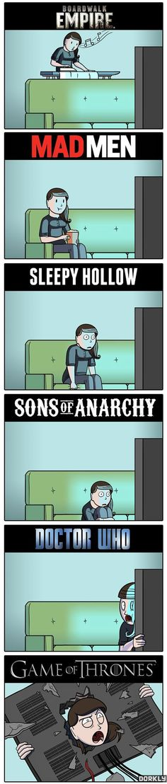 I watch Thrones, Who and S.O.A., but after the season 6 finale of S.O.A. the last picture describes how I felt.....