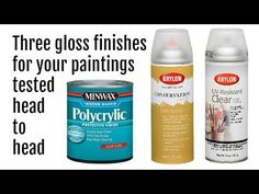 Glossy spray finishes for your paintings tested Acrylic Pouring Art, Acrylic Art, Acrylic Paintings, Pour Painting, Painting Tips, Painting Pictures, Coconut Milk For Hair, Alcohol Ink Crafts, Fluid Acrylics