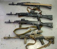 From Original to Custom in 4 steps Kalashnikov Rifle, Guns Dont Kill People, Cool Guns, Assault Rifle, Airsoft Guns, Guns And Ammo, Firearms, Shotguns, Tactical Gear