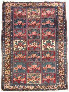 Bakhtiari rug   west persia, circa second quarter of 20th century   6 ft. 10 in. x 4 ft. 6 in.  - FREEMAN'S