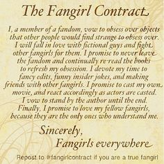 This is so me! What with Doctor Who, friends, the Avengers, the hunger games and my little pony my life is all about being a fan girl. #Fandoms4Life #FangirlSWAG