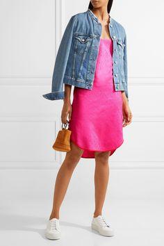 Maiyet | Arc hammered cotton and silk-blend dress | NET-A-PORTER.COM