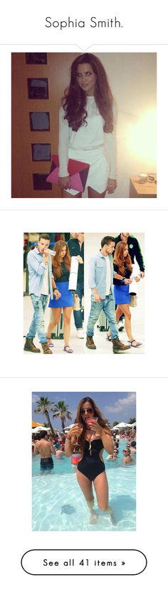 """""""Sophia Smith."""" by regitaj ❤ liked on Polyvore featuring one direction, sophia smith, people, 1d girlfriends, famosos, liam, liam payne, sophia, 1d family and jumpsuits"""