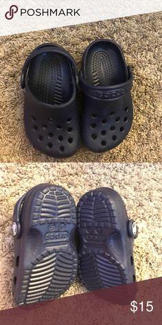 Dark blue crocs Boys crocs super comfy ❤️️ CROCS Shoes Sandals & Flip Flops