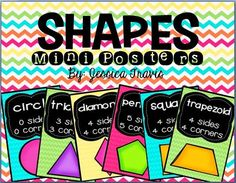 Wild About Firsties!: Mini Shape Posters