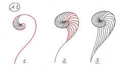 Spirale~Zentangle                                                                                                                                                                                 Mehr