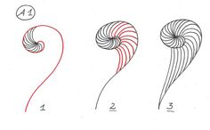 Spirale~Zentangle