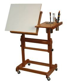 Perfect for inside portability!  Crafttech International Inc. Products - Artist Sketch Table Easel