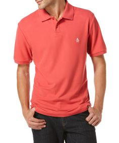 DADDY O POLO FROM ORIGINAL PENGUIN. RETAILS FOR $55. CLAIM HERE FOR $42