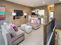 1000 ideas about upstairs loft on pinterest model homes for 2nd living room ideas