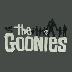 Goonies 80's Retro Sticker Decal One Eyed Willie Never Say Die Film Movie Sloth