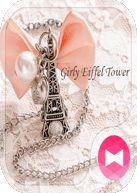 Cute Theme-Girly Eiffel Tower- - https://apkfd.com/cute-theme-girly-eiffel-tower/