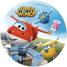 Oblea Super Wings 3 - Modecor