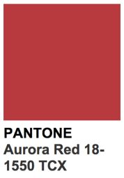 Aurora Red - Automne/hiver 2016