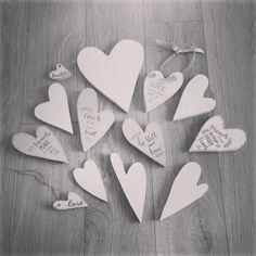 Bespoke hearts ❤
