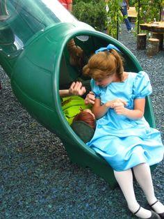 Peter Pan & Wendy at Disneyland