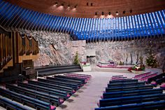 Temppeliaukion kirkko, Suomi
