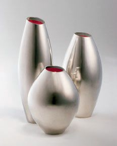 Lasse Bæhring - Vases - Silver and laquer