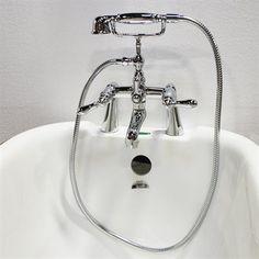 Acri-tec Industries 82021 Chrome Lever Handle Deck Mount Faucet