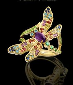 Master Exclusive Jewellery, collection World of Insects, dragonfly ring
