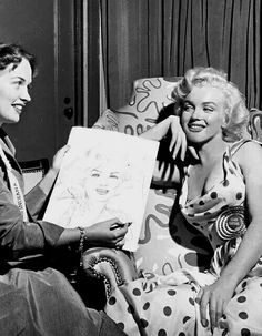 Marilyn Monroe promoting Monkey Business
