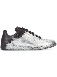 MAISON MARTIN MARGIELA Metallic Ace Sneakers.  maisonmartinmargiela  shoes  sneakers  Margiela Sneakers ba9d98ca3ae7