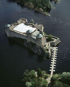 Olavinlinna Castle, Helsinki, Finland