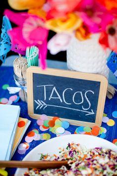 howl creative company | Fiesta Themed Party, Shower + Wedding Decor