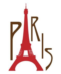 Take a look at this 'Paris' Tower Print by Secretly Designed on #zulily today!