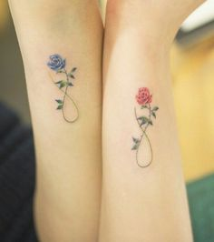 Matching tattoos for best friends, husband and wife, mother daughter or family 6