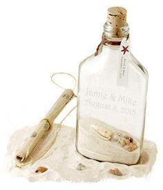 Tropical Beach Wedding Invitation In A Bottle by HansonEllis