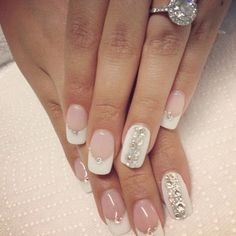 40 Ideas for Wedding Nail Designs | Showcase of Art