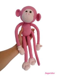 Mike monkey amigurumi