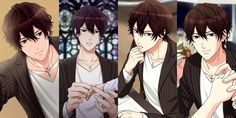 Tamaki Kikushima, 5'10, 26, Blood Type B, Birthday April 1, Aries zodiac, male reference. My forged wedding part 2