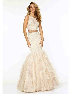 Trumpet/Mermaid Scoop Beading Sleeveless Floor-Length Organza Dresses